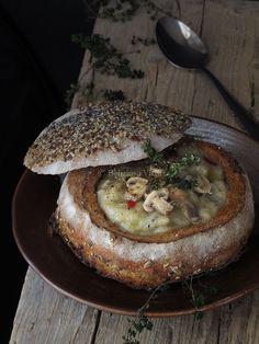 Zuppa di funghi - Deliziosa Virtù