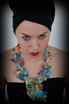 soutache necklace http://houseofpeacemalta.com/