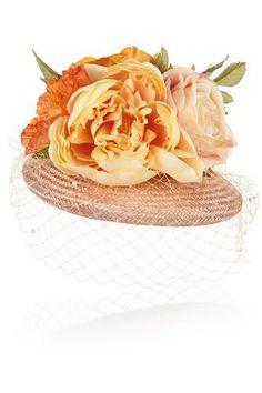 Flower-embellished straw hatFlower-embellished straw hat #accessories #covetme #piersatkinson