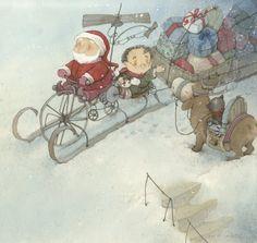 Eve Tharlet - Le Noël de Léon