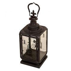 1528225d1fe Lanterna Decorativa de Metal e Vidro Jiangxi l Maria Pia Casa