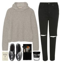"""""""Untitled #696"""" by soym ❤ liked on Polyvore featuring Topshop, Michael Kors, Acne Studios and Forever 21"""