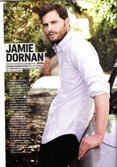 Fifty Shades Updates: PHOTOS: Scans of Jamie Dornan in Cosmopolitan Argentina