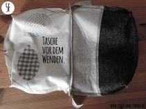 Reißverschluß einnähen: Tasche fertigstellen 6