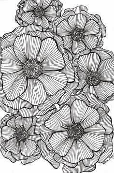 Doodle art 56295064077700150 - JPG file that can be used to create greeting cards, gift tags, tissue paper for decoupage, and whatever else you can imagine. Makes a great background for other designs. Source by bOnObOboo Zentangle Drawings, Zentangle Patterns, Art Drawings, Mandala Drawing, Doodle Patterns, Art Patterns, Zentangle Art Ideas, Textures Patterns, Patterns To Draw
