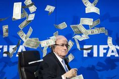 """Sepp Blatter claimed that he had been treated """"like a punchbag"""" after the disgraced Fifa president was banned from football for eight years yesterday along with Michel Platini, his former protégé and the Uefa president. The pair have been barred from all football-related activity by Fifa's ethics committee after it was determined that a £1.35 million payment made by Blatter to the Frenchman in 2011 """"had no legal basis"""". They have been fined too: Blatter £34,000 and Platini £54,000."""
