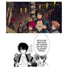Akatsuki no Yona #anime #manga