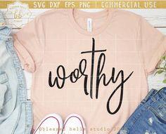 T Shirts With Sayings, Cute Shirts, Christian Shirts, Christian Quotes, Create T Shirt, Jesus Shirts, Vinyl Shirts, Personalized T Shirts, Cricut