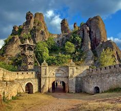 Straight out from Mordor from Lord of the Rings — Belogradchik Fortress, Bulgaria