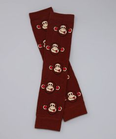 Take a look at this Cheeky Monkey Leg Warmers by Huggalugs on #zulily today!