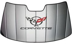 5538323e48 Insulated Accordion Style Folding Sun Shade with Logo for C5 Corvette