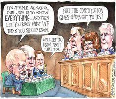Cartoon: Overseeing the overseers