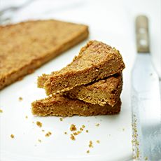 Grasmere Ginger Shortbread - a Cumbrian fave. Recipe by Delia Smith. Shortbread Recipes, Shortbread Cookies, Baking Recipes, Cookie Recipes, Snack Recipes, Healthy Recipes, Biscotti, Macarons, Cookies