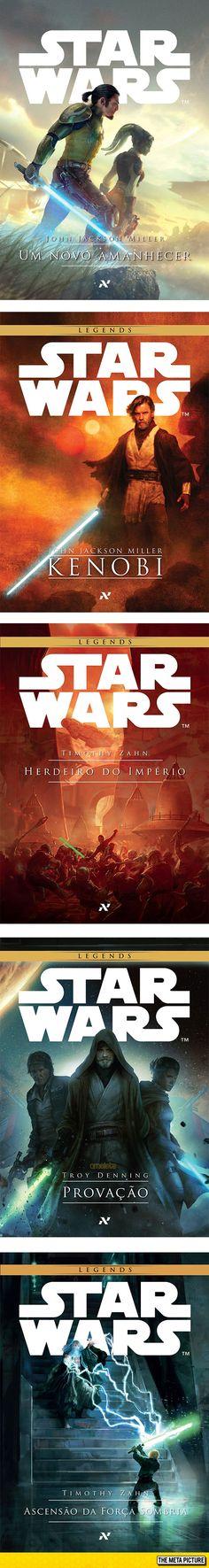 Brazilian Star Wars Books Have Astonishing Covers