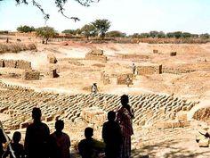 Fabrique de briques, Bankilaré, Niger, Décembre 1978