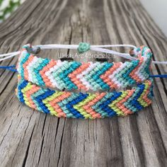 Imperméable à leau Chevron amitié Bracelet par WristsAre4Bracelets