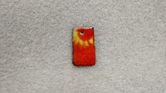 Fire torched enamel pieces by nicole krenzel
