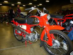 OldMotoDude: 1963 Honda C110 with over 86,000 actuals miles.  O...