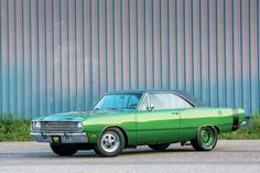 1969 Dodge Dart Swinger 340  Maintenance/restoration of old/vintage vehicles: the material for new cogs/casters/gears/pads could be cast polyamide which I (Cast polyamide) can produce. My contact: tatjana.alic@windowslive.com