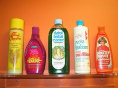 if you're a 70's kid, chances are you used at least one of these hair products:)
