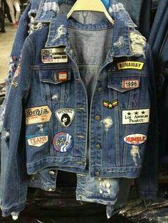 Fashion, grunge, and jacket