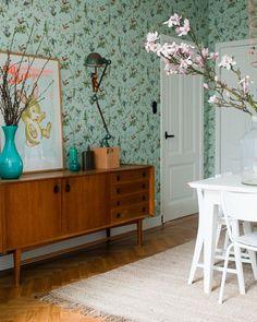 Thuis vt wonen on pinterest outdoor oven bakken and pocket doors - Vintage woonkamer meubels ...