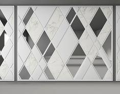 Feature Wall Design, Wall Panel Design, Wall Decor Design, Partition Design, 3d Wall Decor, Metal Clock, Metal Wall Art, Living Room Tv Unit Designs, 3d Panels
