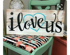 30 Inspiring Rustic Wood Signs Design Ideas You Should Copy Now - All of our rustic wood pallet signs are made in our shop but we wanted to share how we build our signs in case you wanted to build them yourself. Pallet Crafts, Pallet Art, Wooden Crafts, Pallet Projects, Diy Projects, Pallet Ideas, Painted Wood Crafts, Rustic Wood Crafts, Pallet Designs