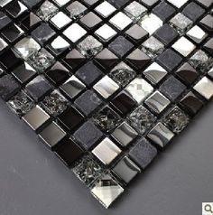 Cheap glass granite tile, Buy Quality glass tile pattern directly from China glass tile nippers Suppliers:       express shipping free!! LiteGlow glass and stone mosaic blue color and white color,