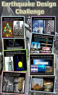 Students spend considerable time learning all about rock deformation, faults, folds, earthquakes, seismic waves, and much more. They then learn about earthquake design features and build a design with gumdrops and toothpicks for the big quake. Instructions and much more are included. A great lesson bundle for any earth science classroom. -Enjoy! Science from Murf LLC