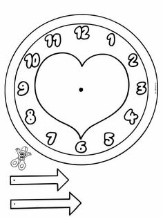 Top 40 Examples for Handmade Paper Events - Everything About Kindergarten Clock Craft, Diy Clock, Clock Face Printable, Bright Horizons, Kindergarten Prep, Basic Math, Telling Time, Nouvel An, Writing Paper