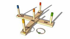 Jeux d'anneaux d'extérieur RINGO, Maisons du monde. Réf: 133107 Prix : 14,99 € - 3D Warehouse