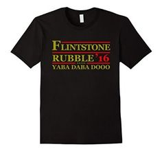 Amazon.com: Flintstone T-shirt: Yaba Daba Dooo 2016 Shirt: Clothing
