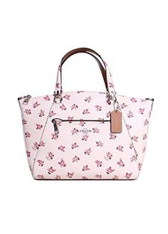 9ad5f8402955ee Great for COACH Womens Floral Bloom Prairie Satchel Women Bag. [$297.5]  topbrandsclothing from