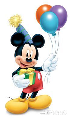 Mickey Mouse Party- 2013 Lifesize Standup Silhouette en carton sur AllPosters.fr Plus