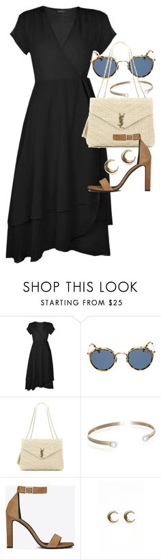 """""""Untitled #21315"""" by florencia95 ❤ liked on Polyvore featuring Boohoo, Eyevan 7285, Yves Saint Laurent, Belk & Co. and LowLuv"""