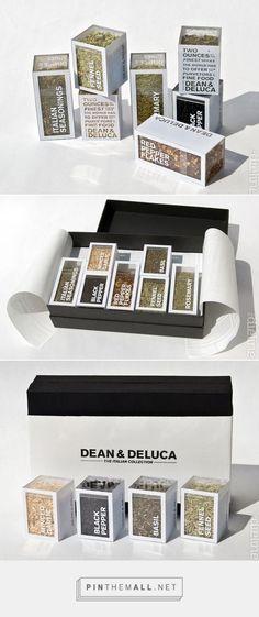 Dean & Deluca Italian Spice Collection Packaging by Zack Zollars   Fivestar Branding – Design and Branding Agency & Inspiration Gallery   #PackagingInspiration