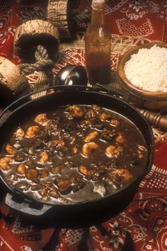 "Shrimp Gumbo, one of 138 field-tested recipes in the ""Hooked on Seafood"" cookbook."