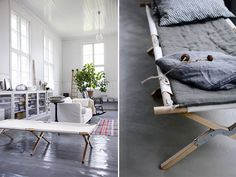 Trend Alert: 10 Canvas Camp Cots as Instant Daybed (Remodelista: Sourcebook for the Considered Home)