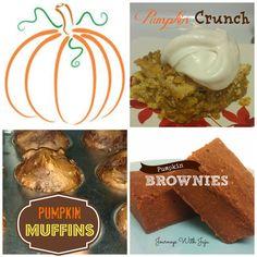 Journeys with Juju: Pumpkin Treats for Autumn