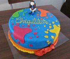 como fazer bolo de aniversário Chiquititas
