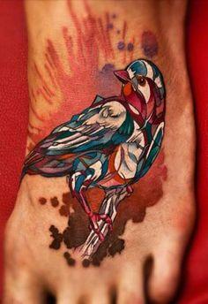 Artsy bird by David Sivak