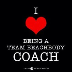 I love being a Team Beachbody Coach! Beachbody programs and suppliments are life changing!