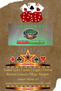 Earn Income From Casino Online Free Casino Slot Games, Online Casino Games, Best Online Casino, Best Casino, Online Games, Mega Moolah, Casino Promotion, Yukon Gold, Canada Online