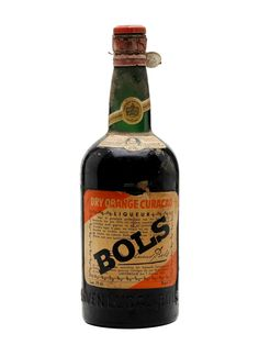 Bols Dry Orange Curacao Bot.1950s 75cl / 35%