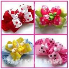Learn how to make hair bows for free.