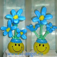 Корзины с цветами - Цветы, букеты - Каталог