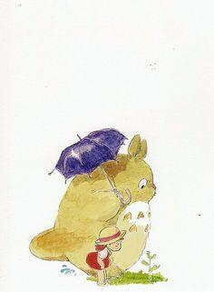 Totoro & Mei Kusakabe - My Neighbour Totoro,Studio Ghibli
