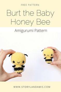 Free Amigurumi Bumble Bee Pattern-Storyland Amis