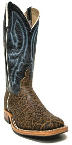 New to STT -- Anderson Bean Men's Terra Vintage Boots | Anderson Bean® never fails to impress! These Elephant Men's Boots are so sophisticated, especially with the blue stitched tops! | SouthTexasTack.com